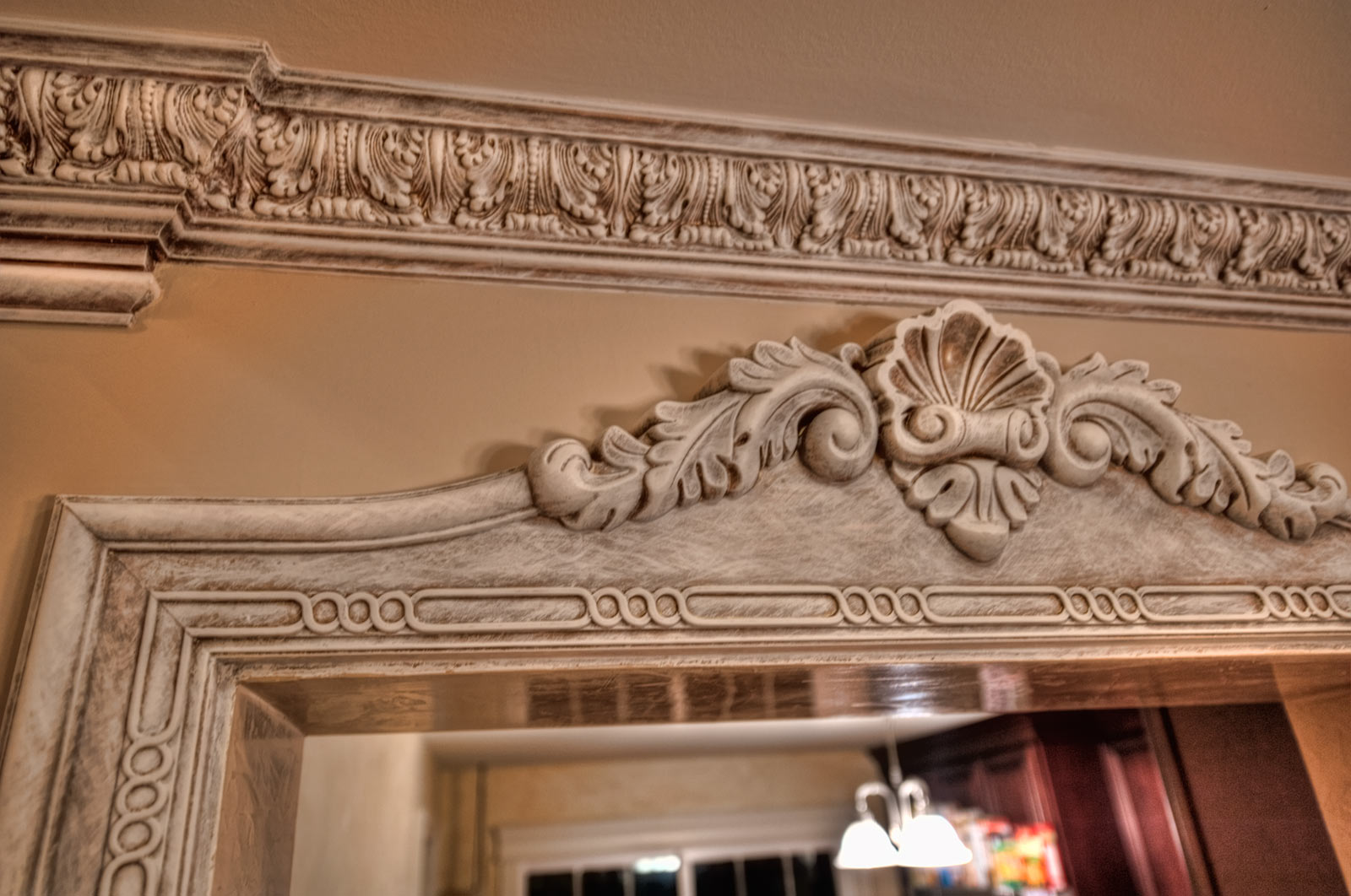 Acanthus Door Trim