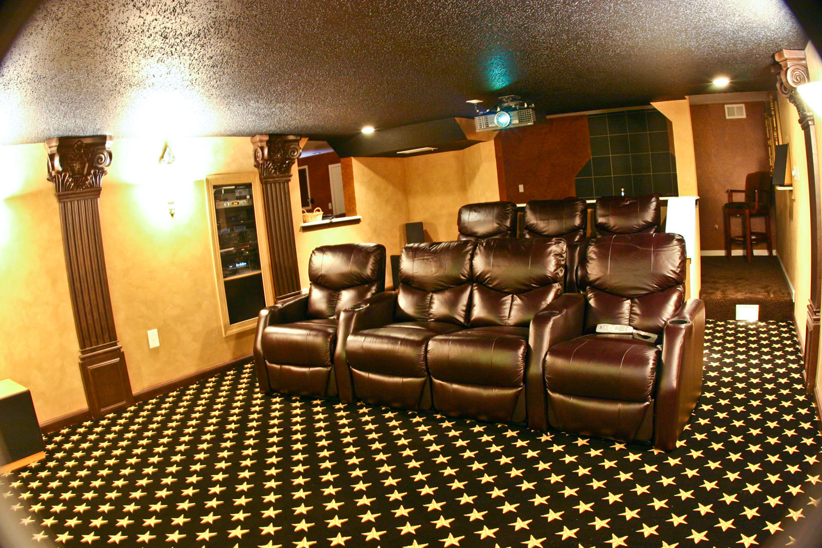 Star Studded Home Theatre