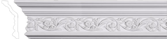 Crown Molding - Plain, Dentil, Cove and more!