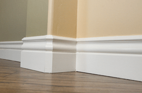 crown molding ceiling relief baseboards chair