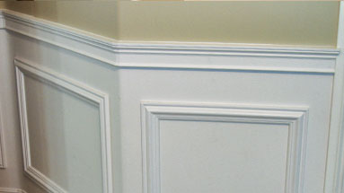 uDecor Molding Crown Molding Chair Rail Window Frames Baseboard