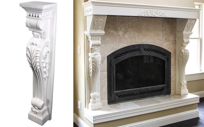 decorative pilasters kitchen pilaster cb 1003 udecor