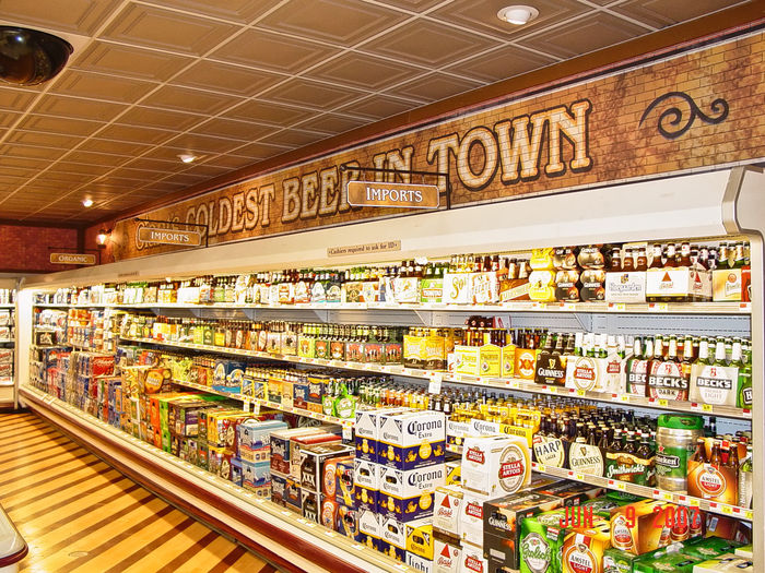 Latte Stratford used as a Supermarket Ceiling Tile