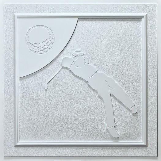 Golf White Ceiling Tile