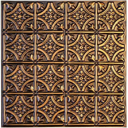 Verona Antique Gold 2x2 Ceiling Tile