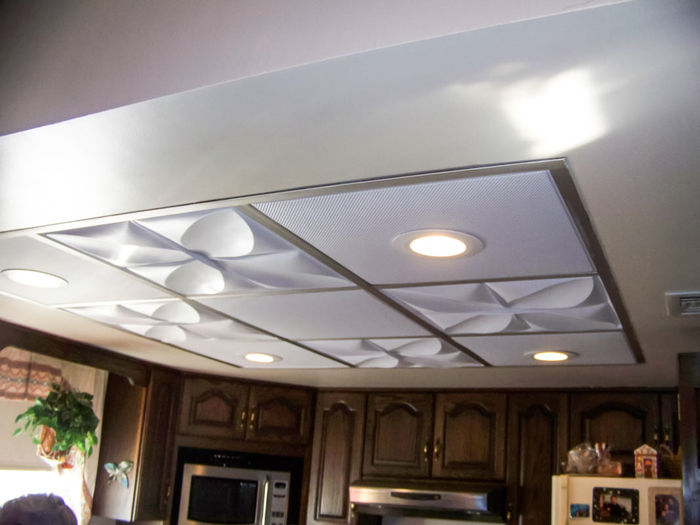 Sahara used as a Kitchen Ceiling Tile