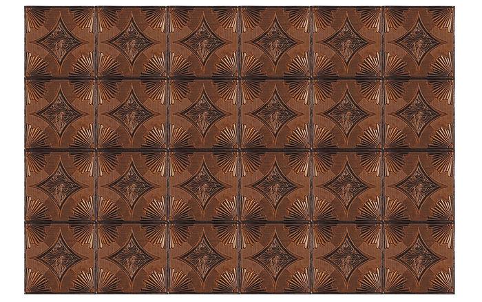 Ferrara 2x2 Antique Copper Ceiling Tile in a Grid