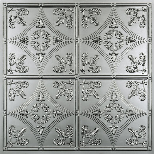 Cathedral 2x2 Nickel Ceiling Tile