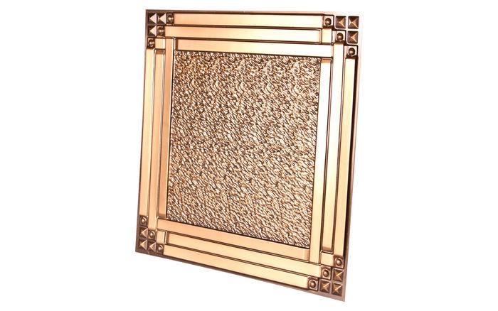 Palermo 2x2 Antique Gold Ceiling Tile