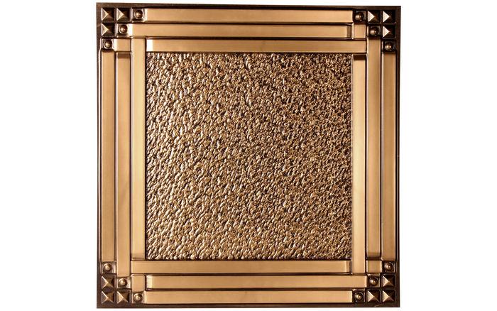 Palermo Antique Gold Ceiling Tile