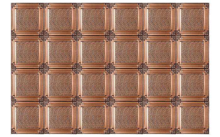 Grid View of Palermo Antique Copper Ceiling Tile