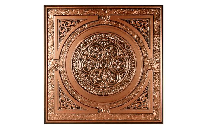 2x2 Messina Antique Copper Decorative Ceiling tile