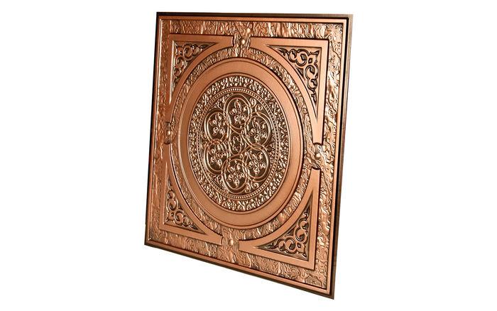 Messina Antique Copper Decorative Ceiling Tile