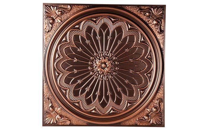 Venice 2x2 Antique Copper Ceiling Tile