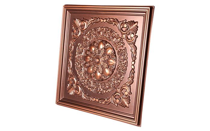 Naples Antique Copper 2x2 Ceiling Tile