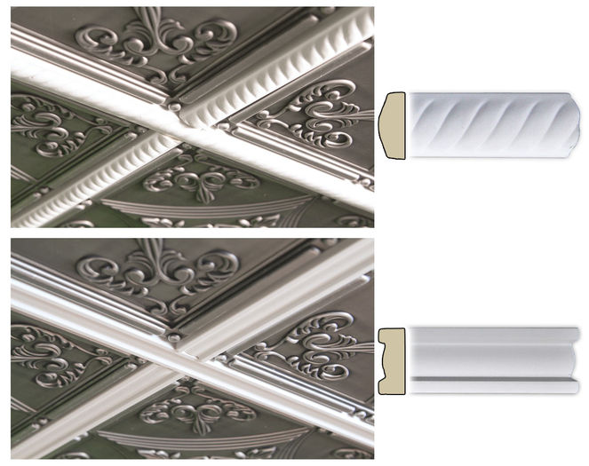 Ceiling Tile Trim Molding By Ceilume