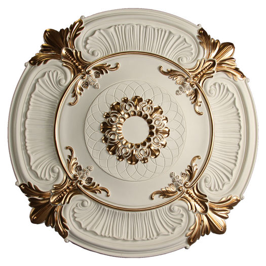 Md 9023 Golden Highlight Ceiling Medallion