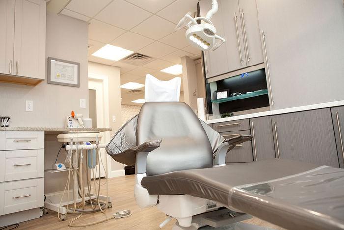 2x2 Mineral Fiber Tegular Ceiling Tiles in Dental Office