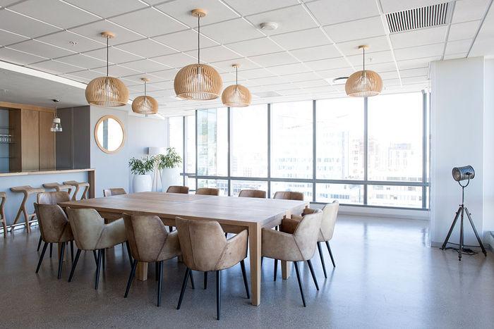 2x2 Mineral Fiber Tegular Ceiling Tiles in Office