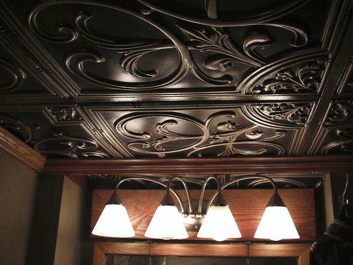 100 copper ceiling panels milan antique copper faux tin cei