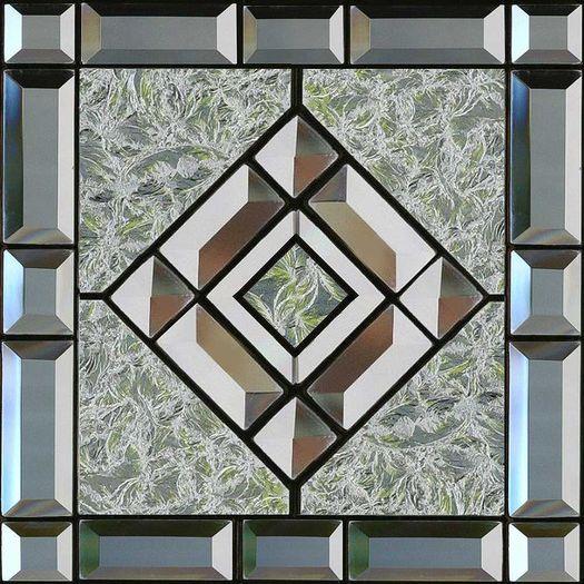 Beveled Glass Ceiling Tile