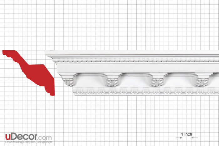 Profile crown moulding