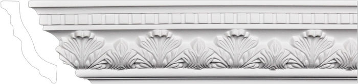 leaf design crown molding