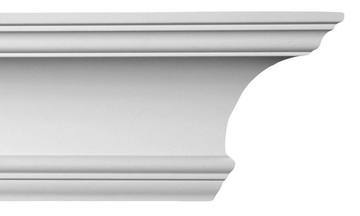 Front Of White Cornice