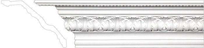 bedroom crown molding