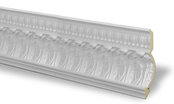 Side ceiling moulding