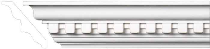 Front crown mouldings