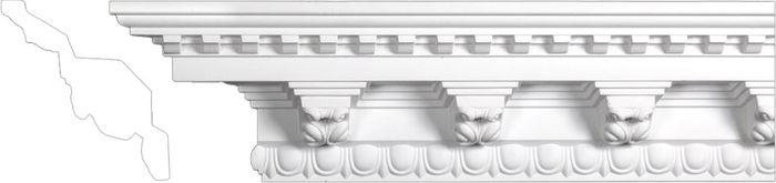 Front crown polyurethane molding