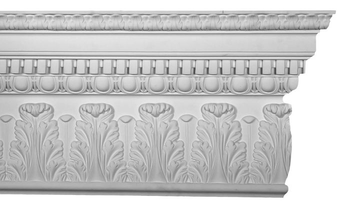 Front Architectural molding