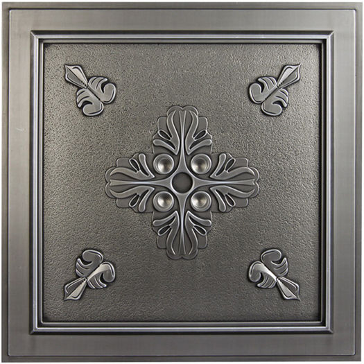 Veranda Antique Nickel Ceiling Tile