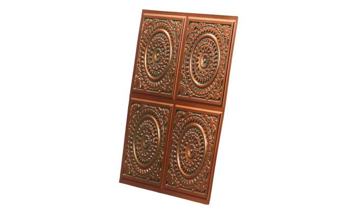 2x2 Patina Copper Ceiling tile