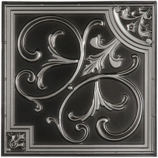 Florence Antique Silver Ceiling Tile