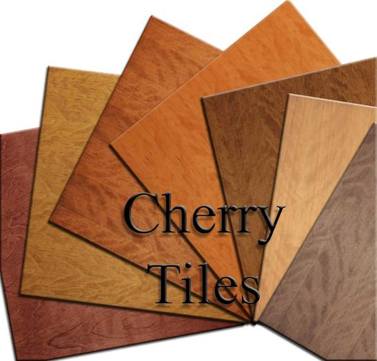 Cherry Wood Ceiling Tiles