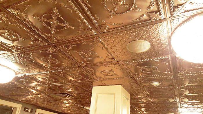 Alexander 2x2 Copper Ceiling Tile