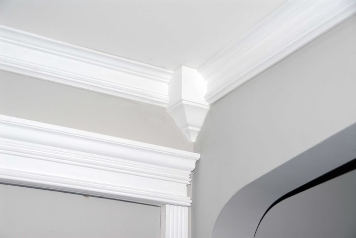 Flexible Crown Molding | Modern Crown Moulding CM-1040 - uDecor