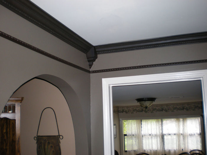 Dark Crown Molding