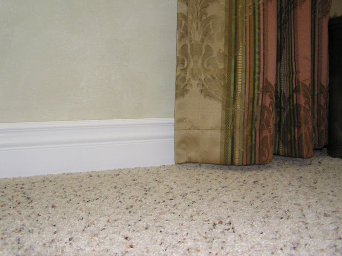 Durable baseboard moldings