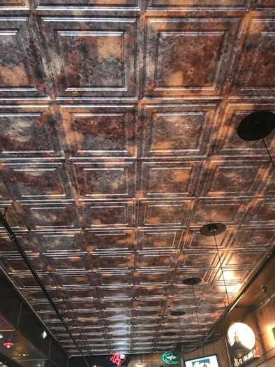 Simply Rustic used as a Bar Ceiling Tile