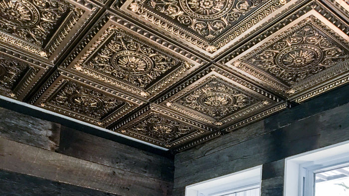 2x2 Milan Antique Ceiling Tile