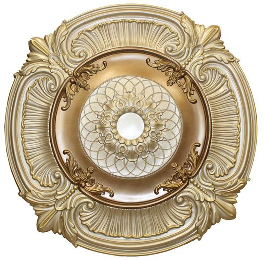 Md 9023 Ivory Ceiling Medallion