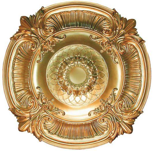 Md 9023 Gold Ceiling Medallion