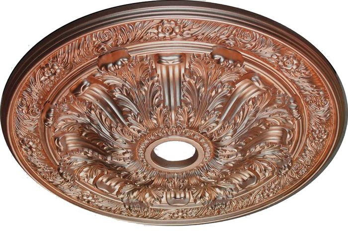 MD-9075 Copper Ceiling Medallion