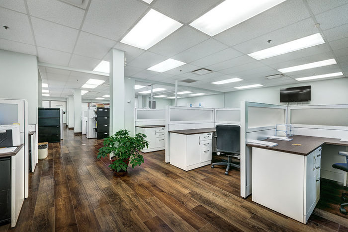 2x4 Mineral Fiber Tile in Office