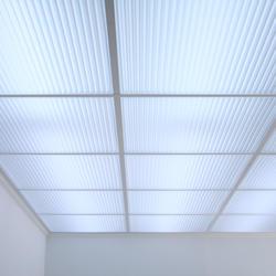 Polyline Translucent Ceiling Tile in Grid