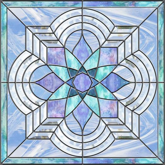 stained glass tiles
