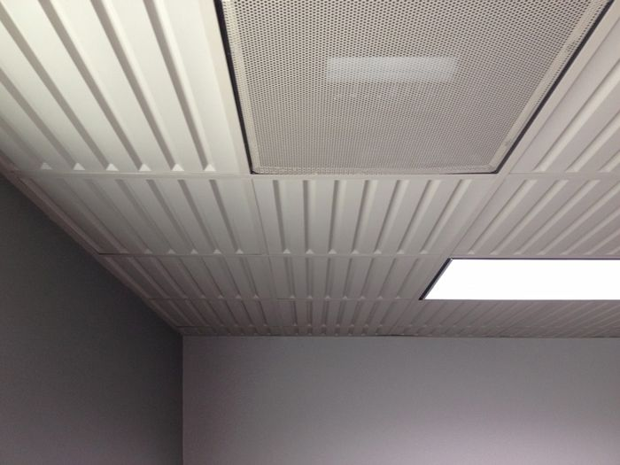 Southland Ceiling Tile in Grid